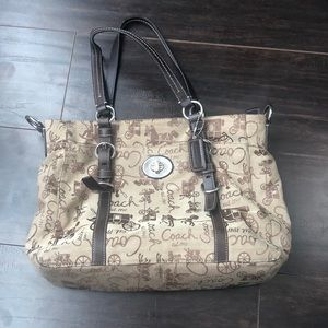 🎉Host Pick🎉⭐️Coach⭐️ | Brown horse and carriage handbag